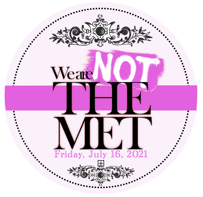 We are Not the MET image