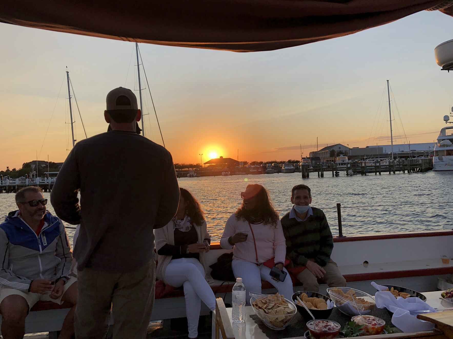 Be Great For Nate Sunset Cruise and Wine Tasting image