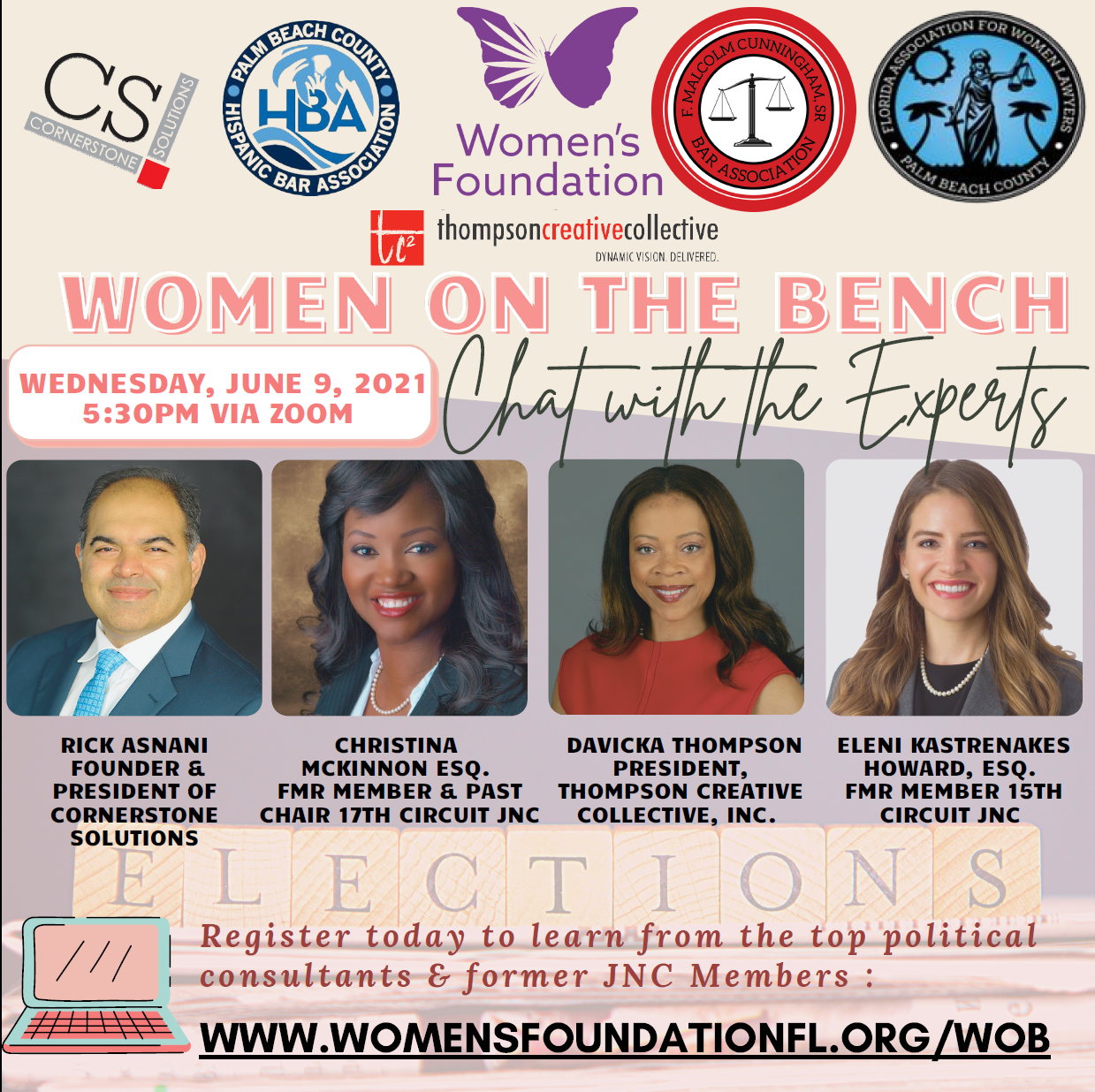 Women on the Bench: Chat with the Experts  image