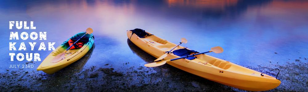 Full Moon Kayak Tour - July 23rd image