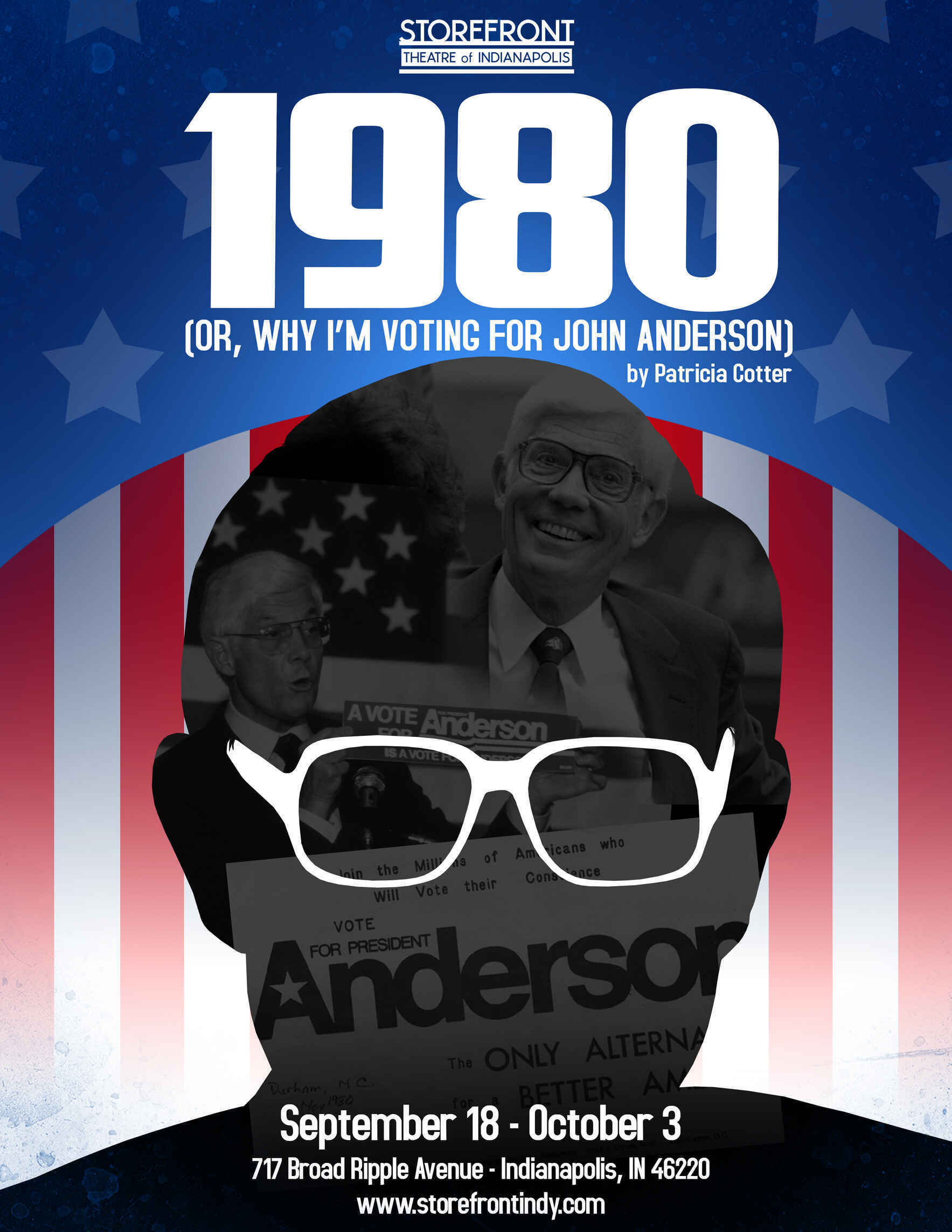1980 (OR WHY I'M VOTING FOR JOHN ANDERSON) image