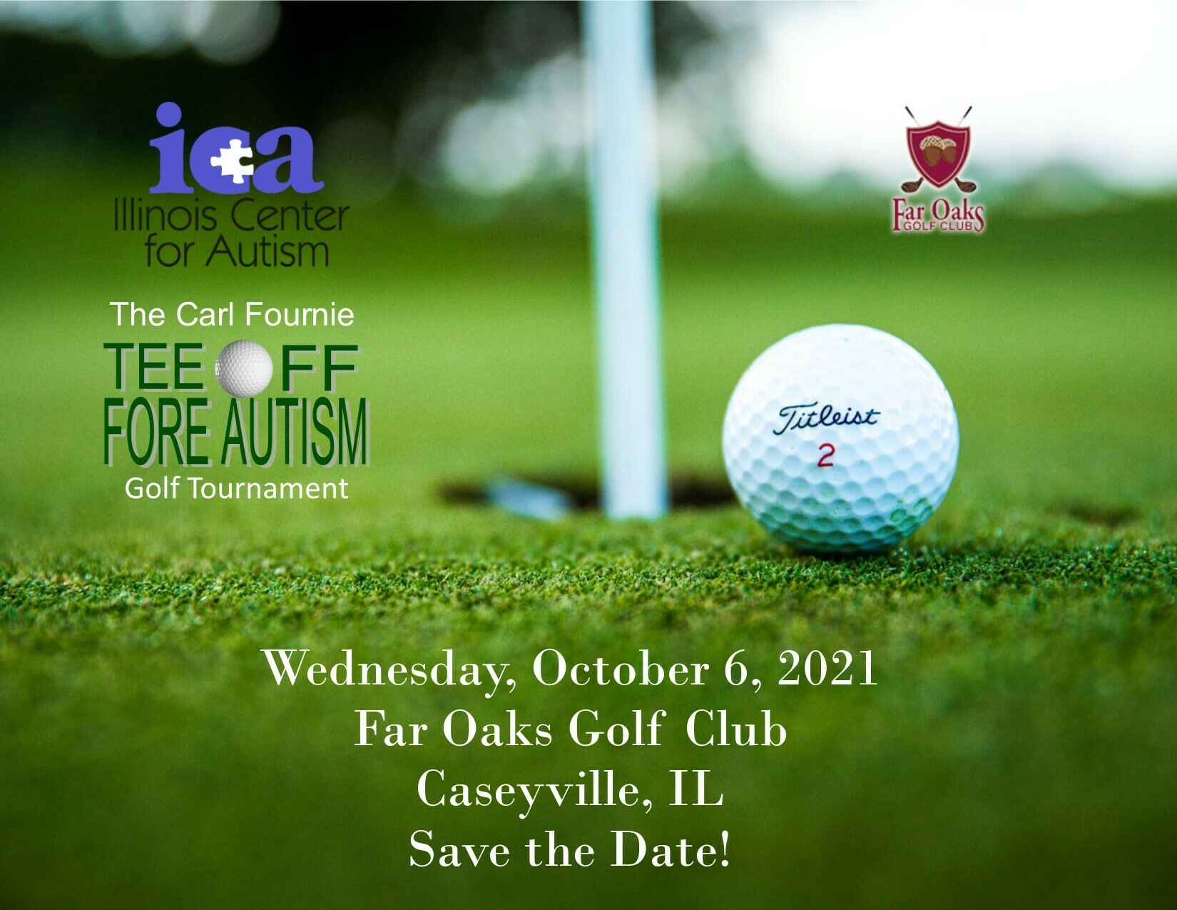 2021 Registration for Carl Fournie Tee Off Fore Autism Golf Tournament image