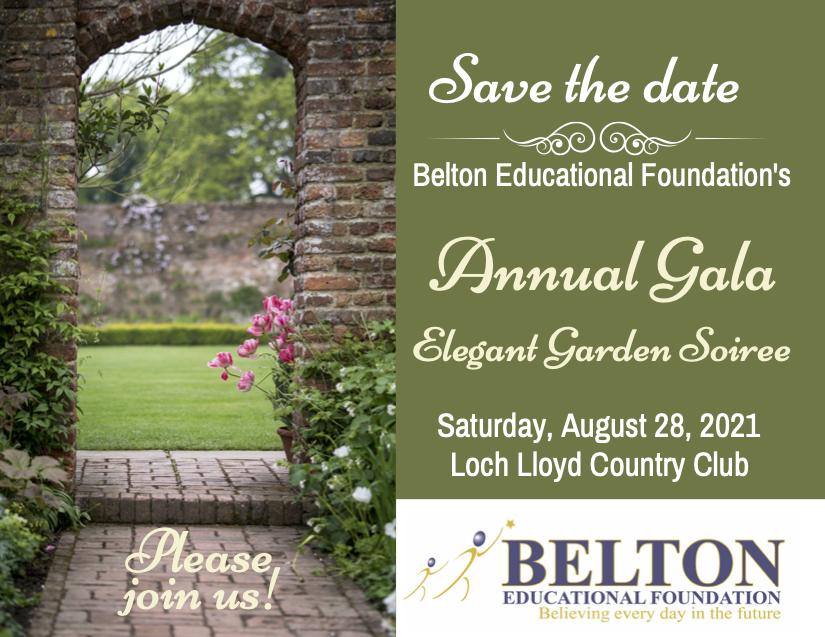 2021 Belton Educational Foundation Gala Sponsorship Opportunities image
