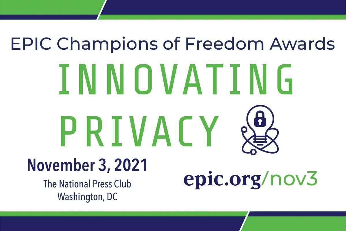 EPIC's Champions of Freedom Awards 2021 image