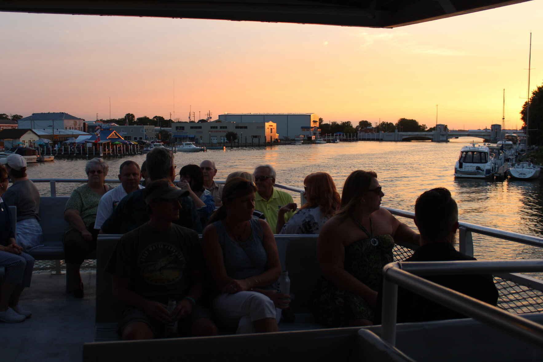 West Sister Island Sunset Cruise image