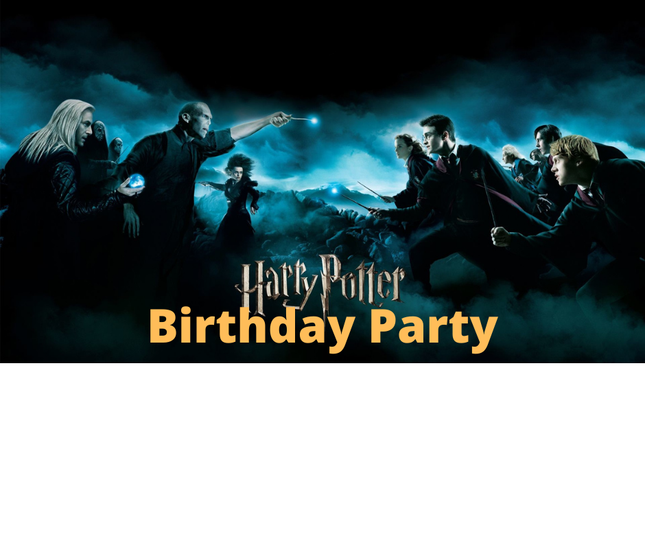 Harry Potter Birthday Party image