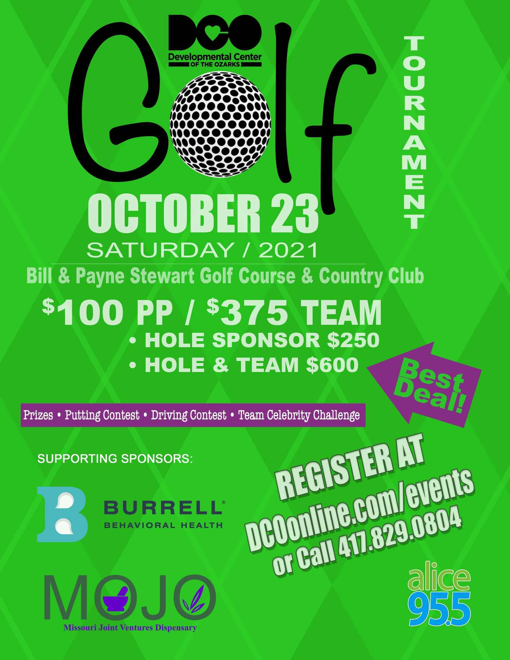 DCO Charity Golf Tournament  image