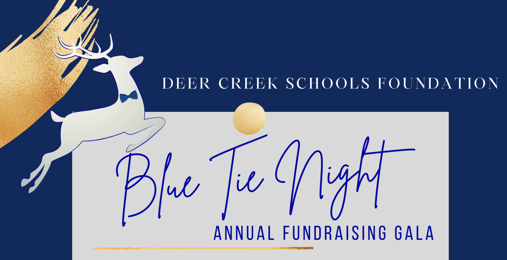 Blue Tie Night - Deer Creek Schools Foundation Annual Fundraising Event image