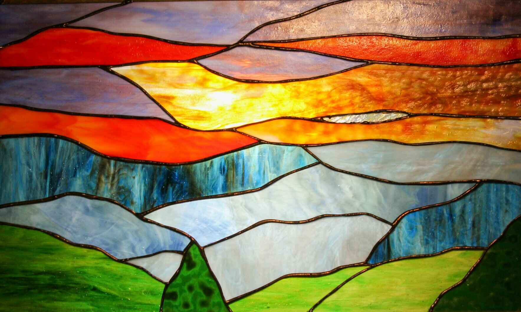 Stained Glass Workshop with Sherrill Hill image