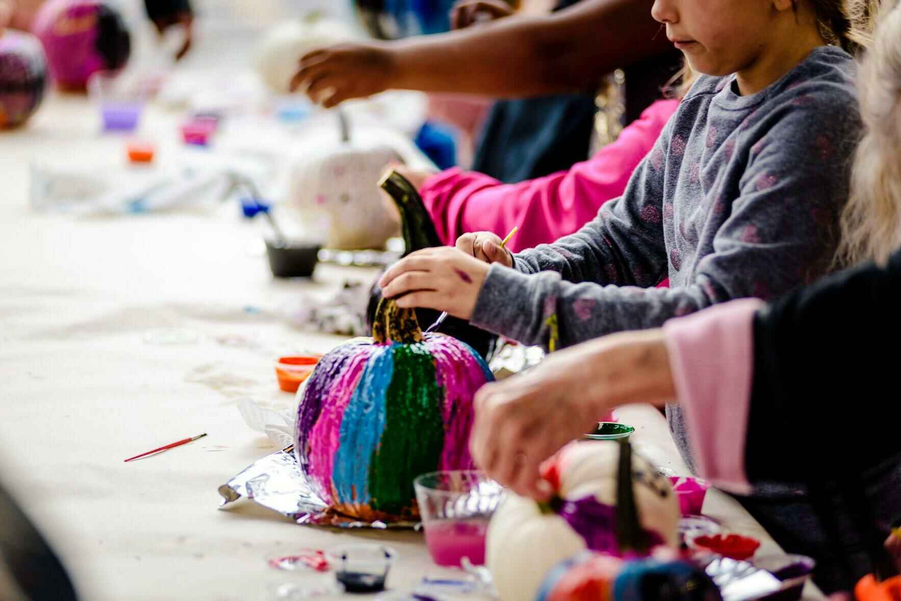 Party in the Patch 2021: Paint-Your-Own Pumpkin Reservations image