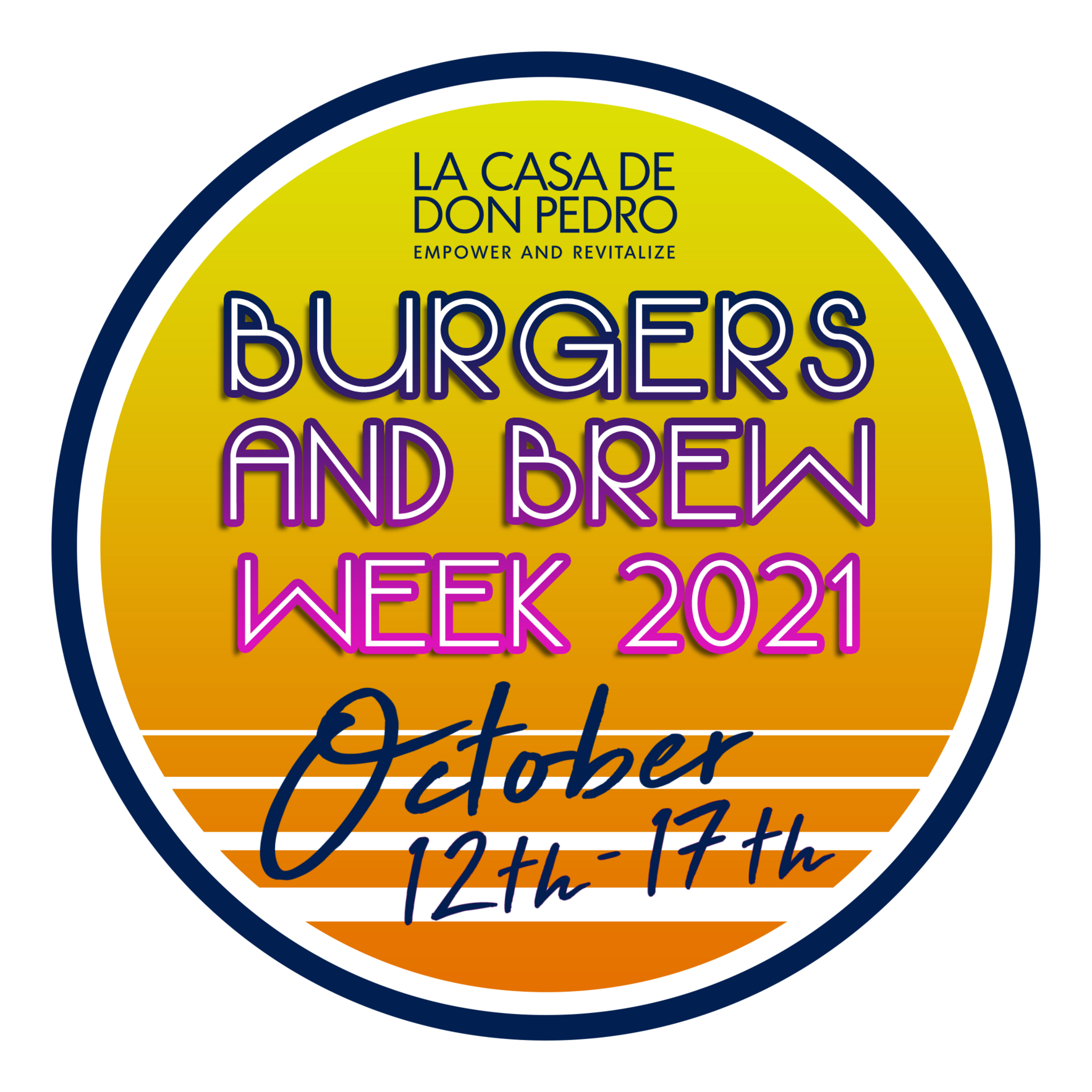 Burgers and Brew Week 2021 image