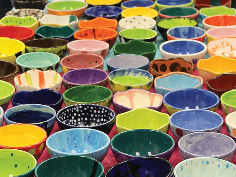 Tamaqua 2021 Hunger Campaign Empty Bowl Soup Sale image