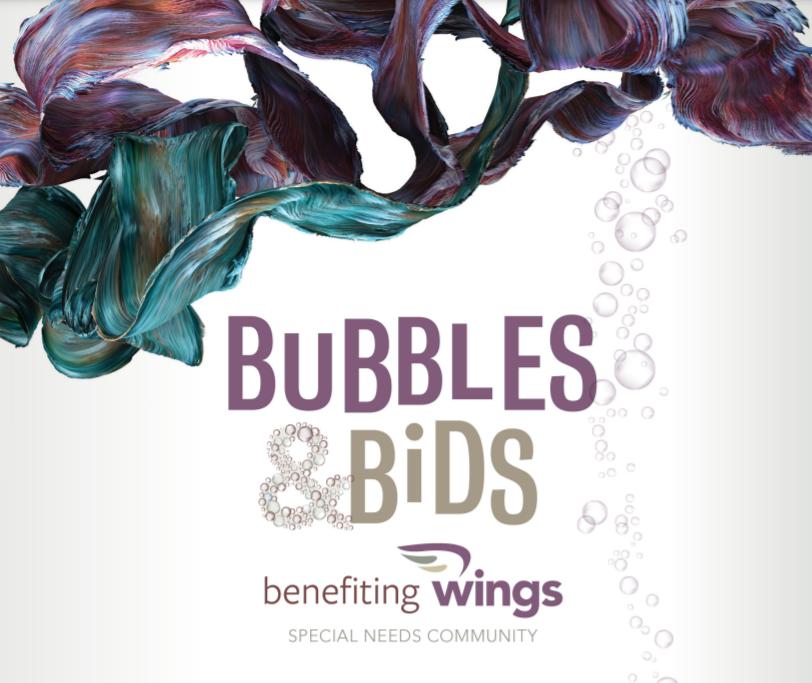Wings 2022 Gala: Bubbles & Bids image