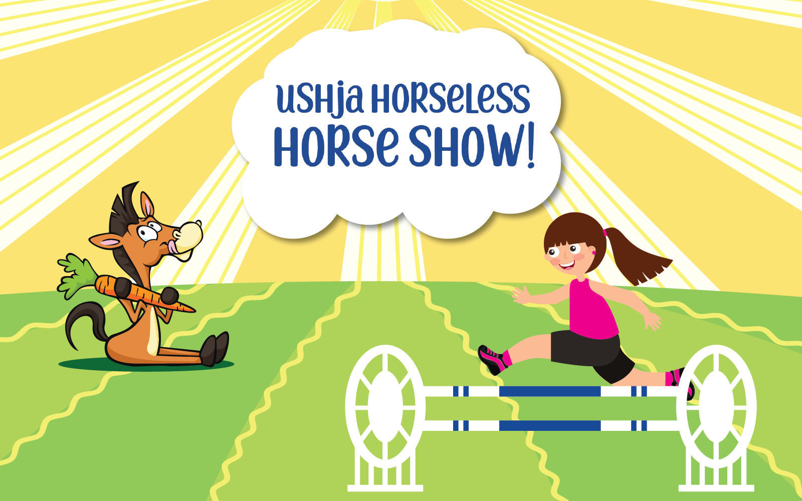 USHJA Horseless Horse Show Fundraiser at EQUITANA USA image