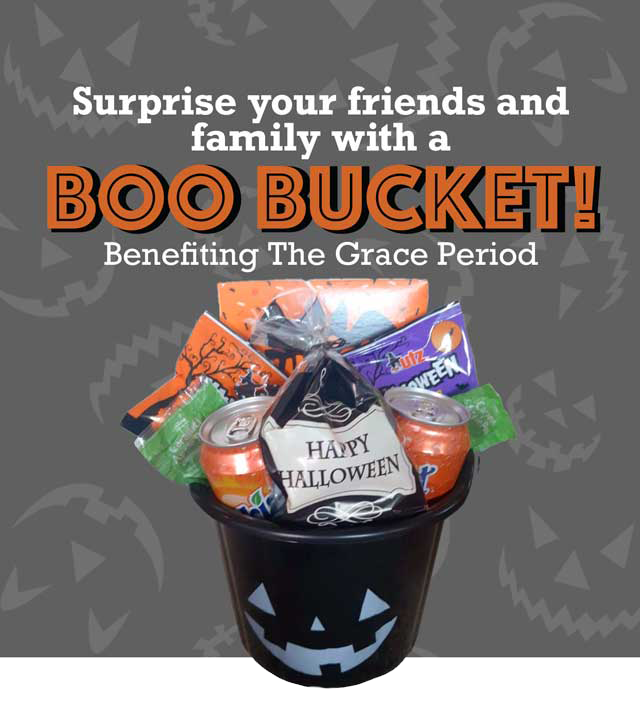 Boo Buckets for your little ghosts and goblins image
