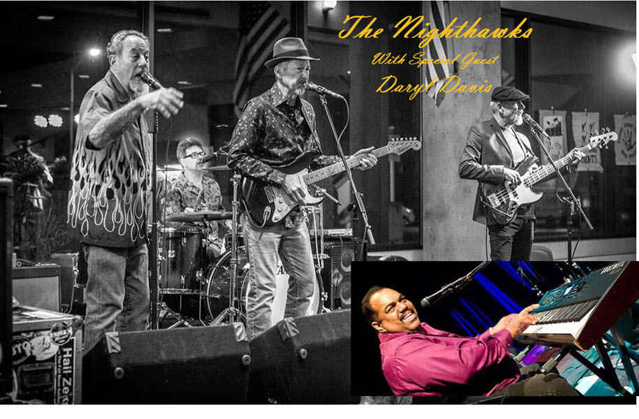 DogGone Good Time III with the Nighthawks and Special Guest Daryl Davis image