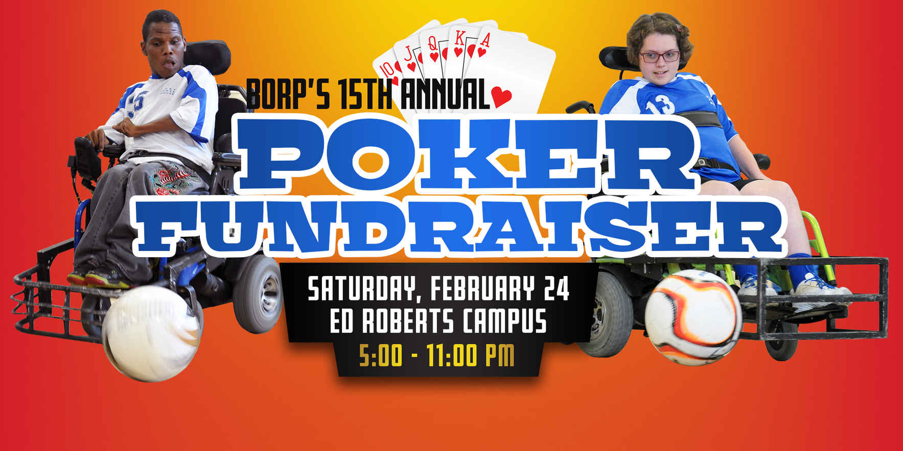 BORP's 15th Annual Poker Fundraiser image