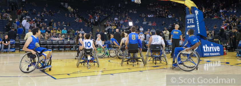Accessible Seating for BORP Night at Oracle Arena image