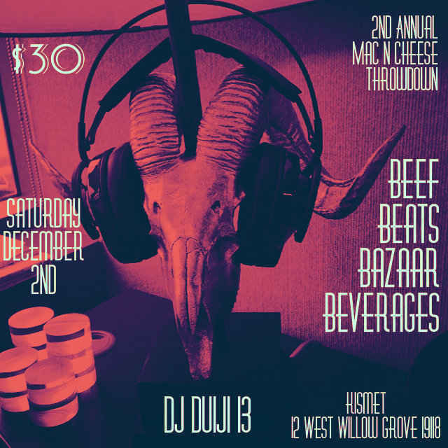 Beef, Beer and Beats image