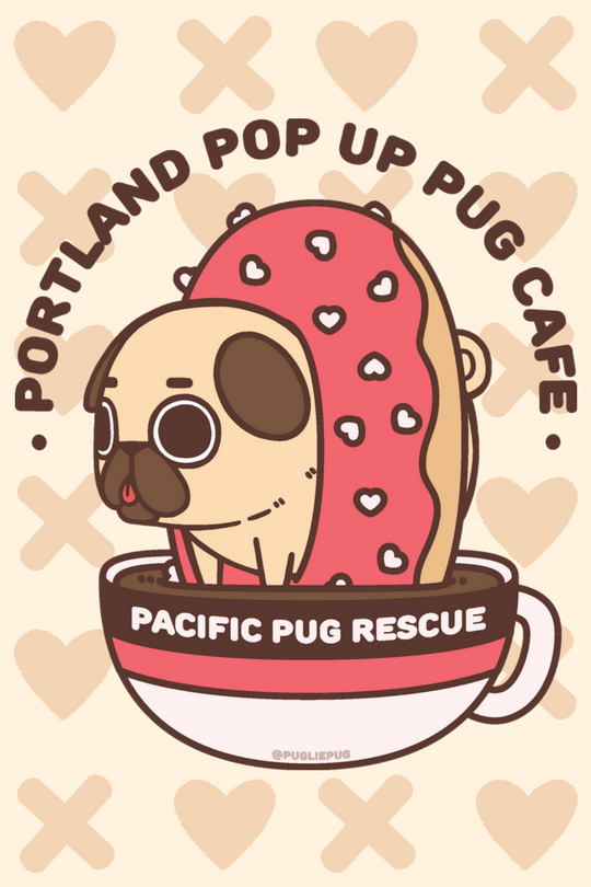 SOLD OUT - Pop-Up Pug Café & Art Show image