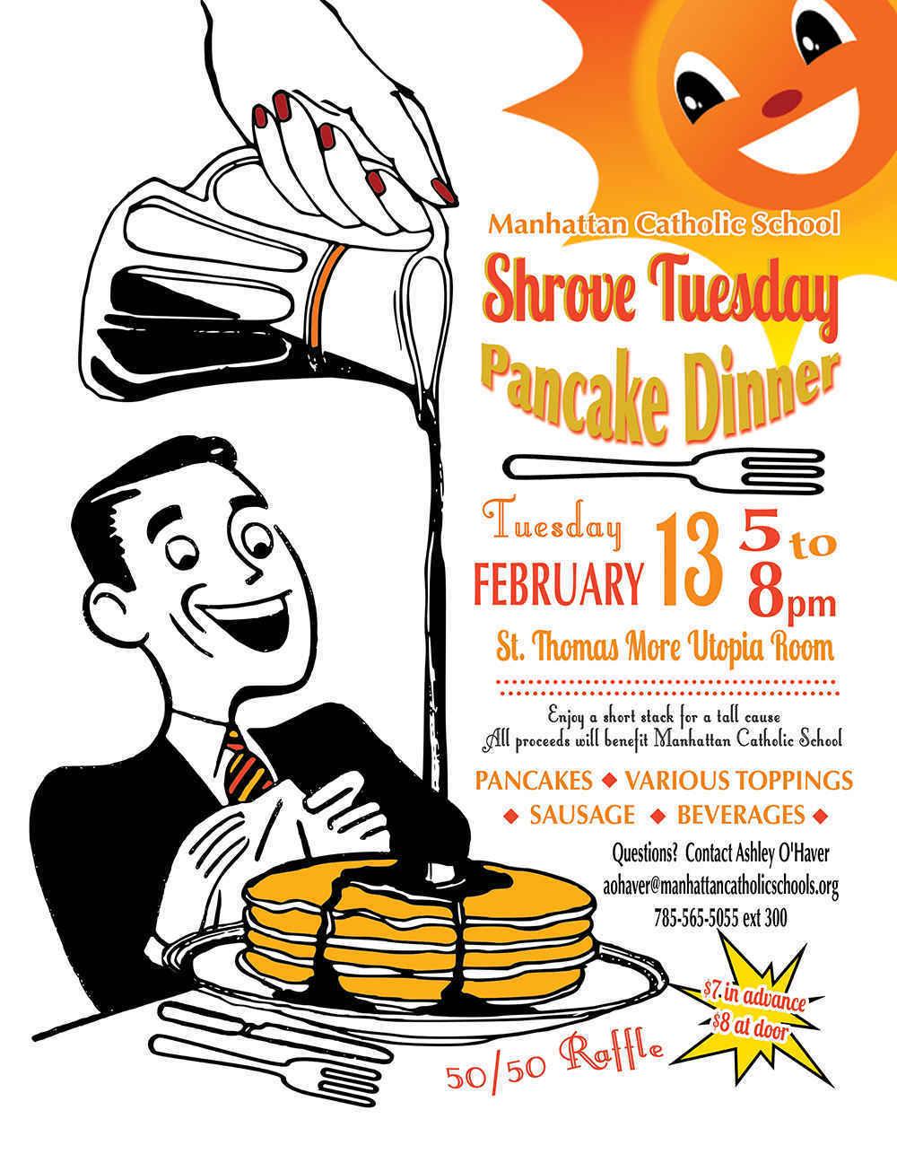 Shrove Tuesday Pancake Dinner image