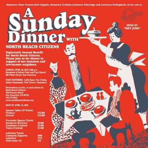 A Sunday Dinner with North Beach Citizens image