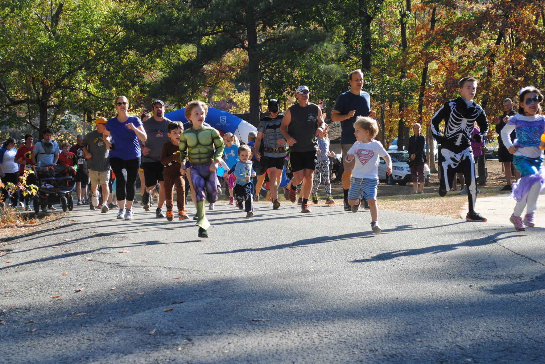 Boo Run for Down Syndrome 10K - 5K - Fun Run Today - Walk Up Registration Only at Red Mountain Park  image
