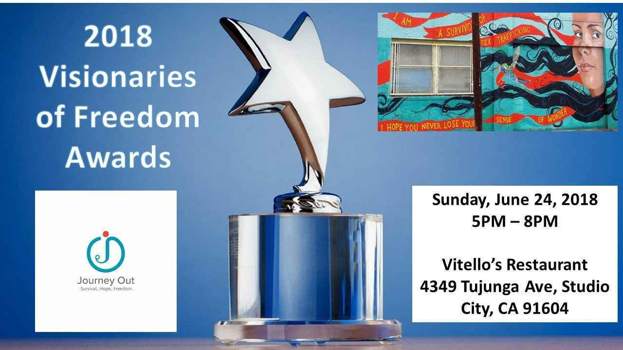 2018 Journey Out Visionaries of Freedom Awards image