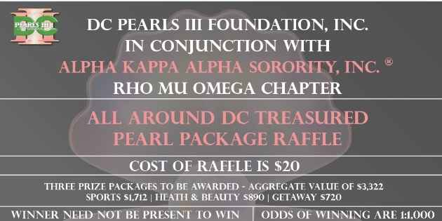 All Around DC Treasure Pearl Package Raffle image