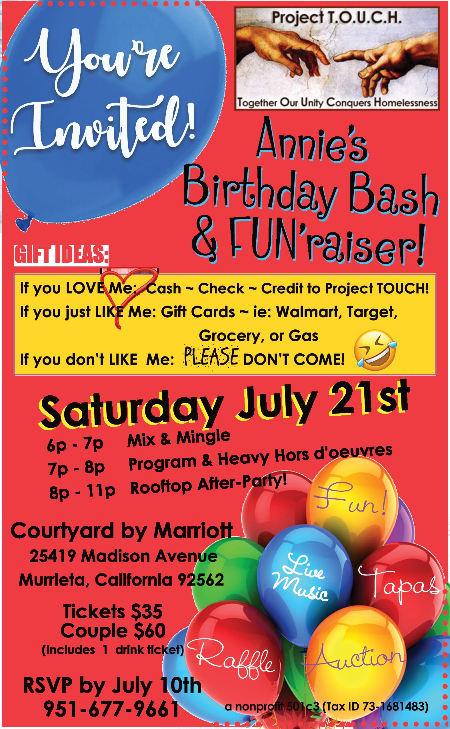 Annie's Birthday Bash image