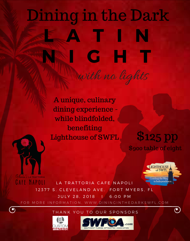 Dining in the Dark: LATIN NIGHT image