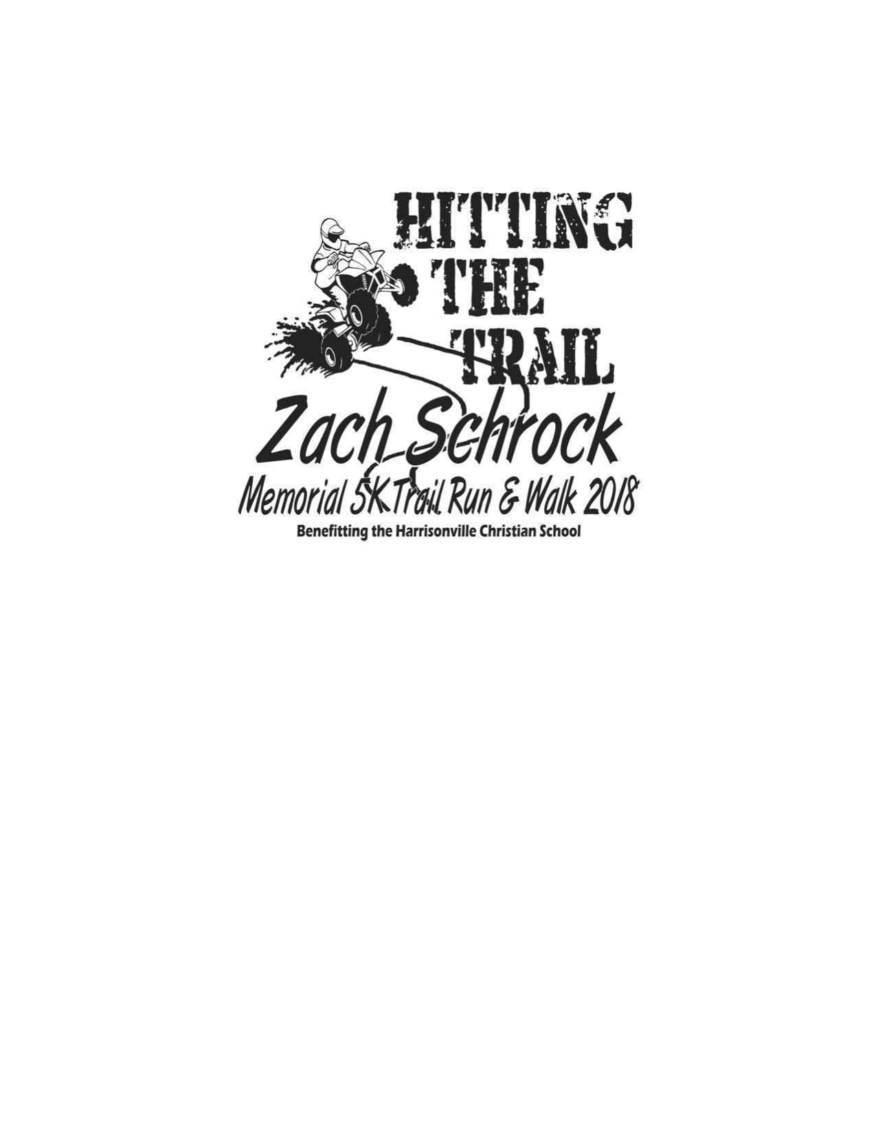 Zach Schrock Memorial 5K Trail Run/Walk image