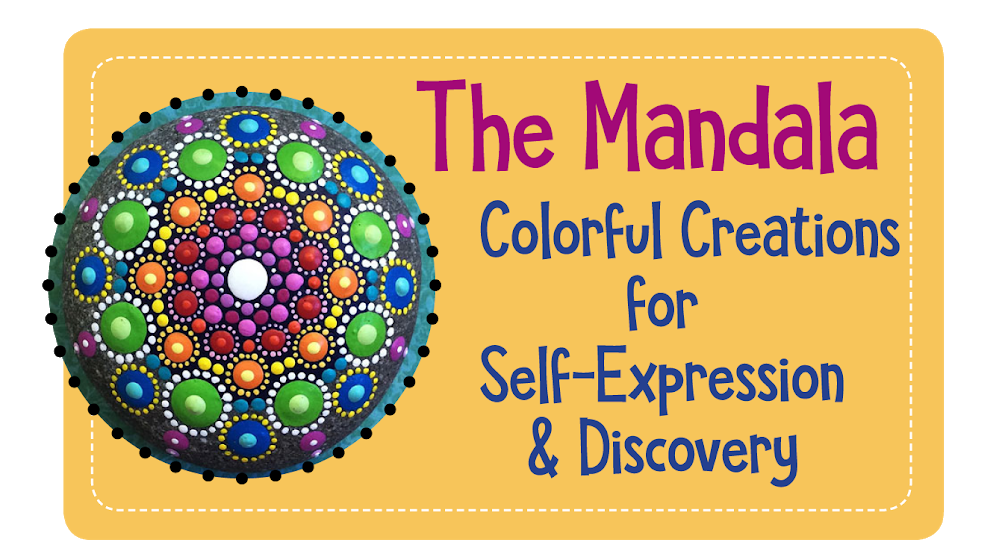 The Mandala: Colorful Creations for Self-Expression & Discovery image