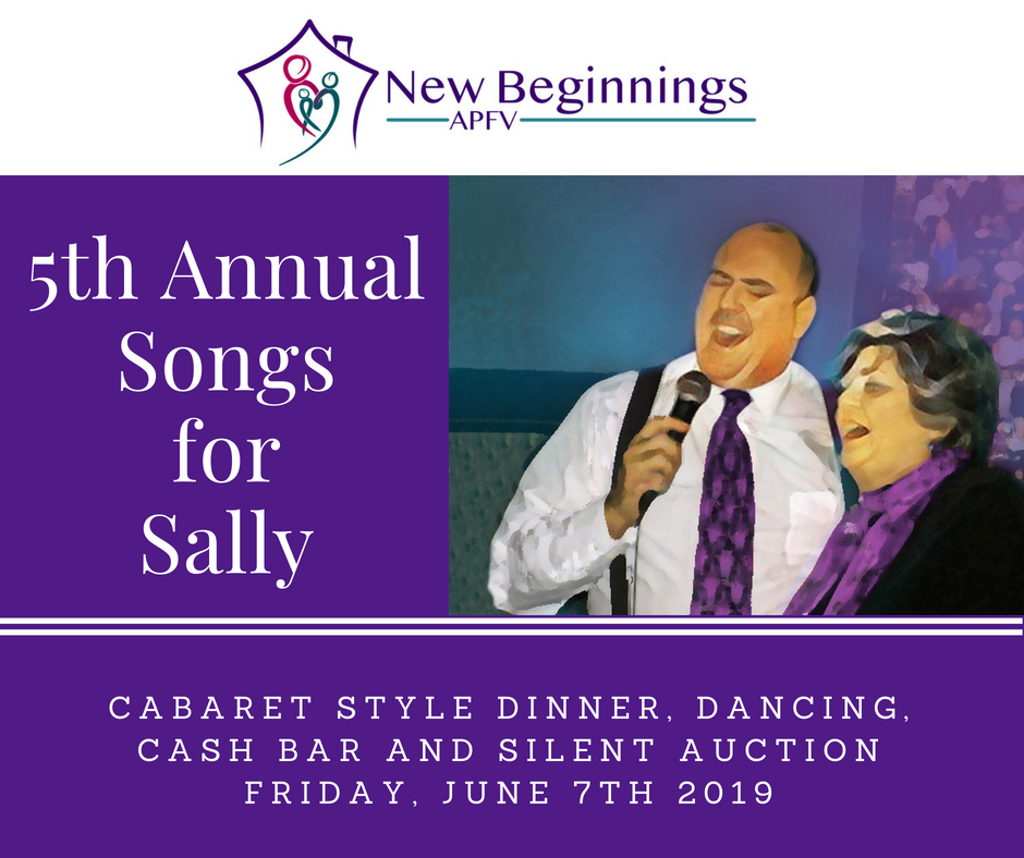 Songs for Sally, a benefit for New Beginnings APFV image
