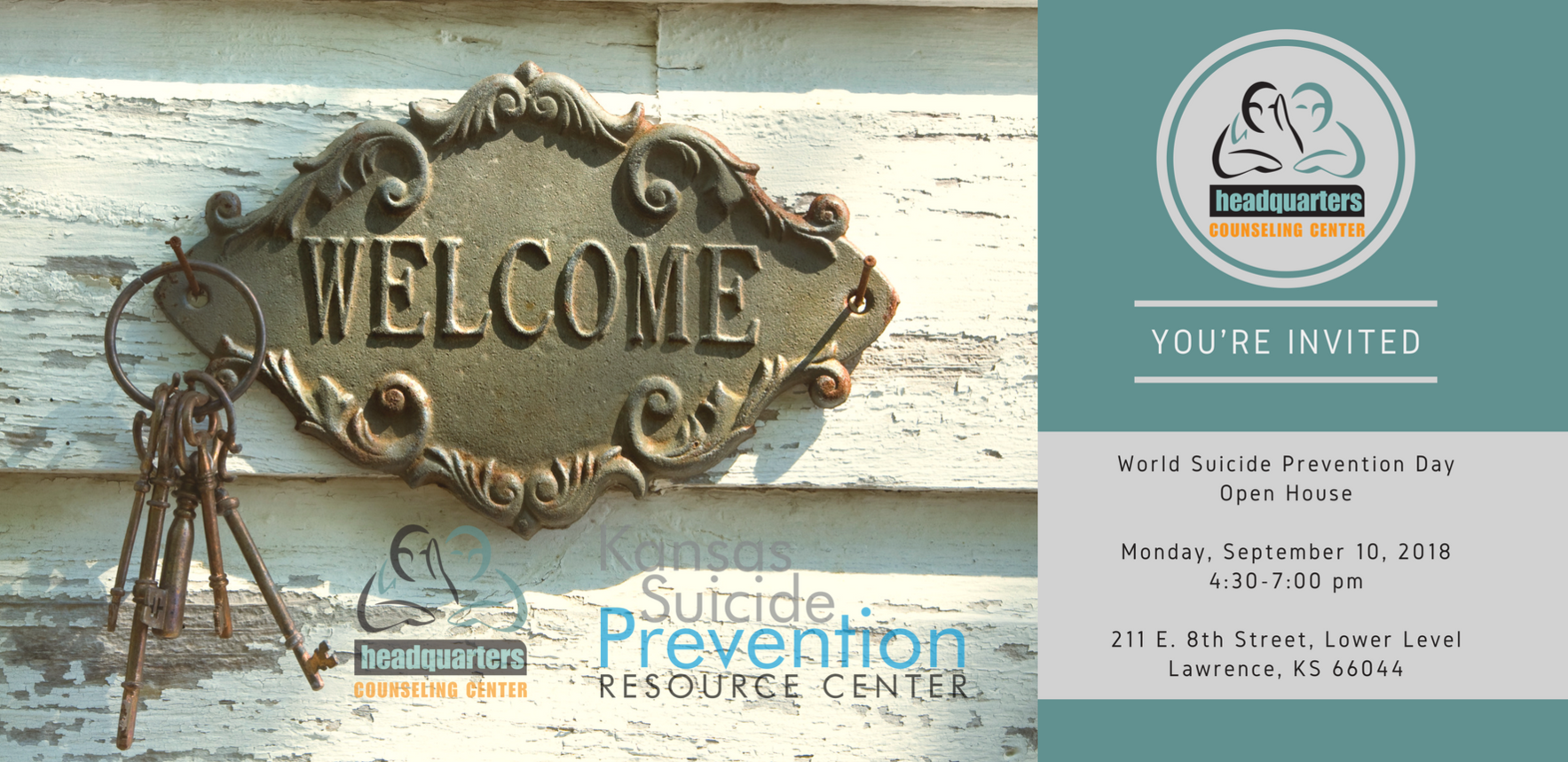 Headquarter's World Suicide Prevention Day Open House image