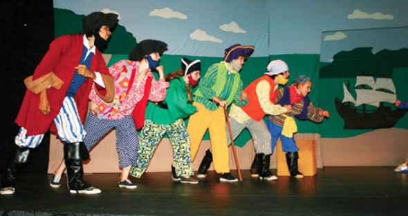 Missoula Children's Theatre's Blackbeard 3:30 image