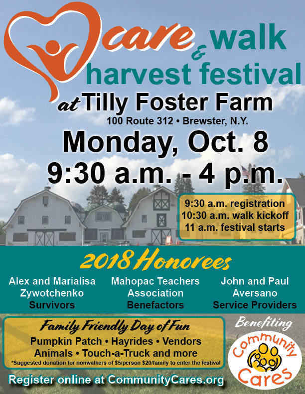 Day of Caring Walk & Harvest Festival image