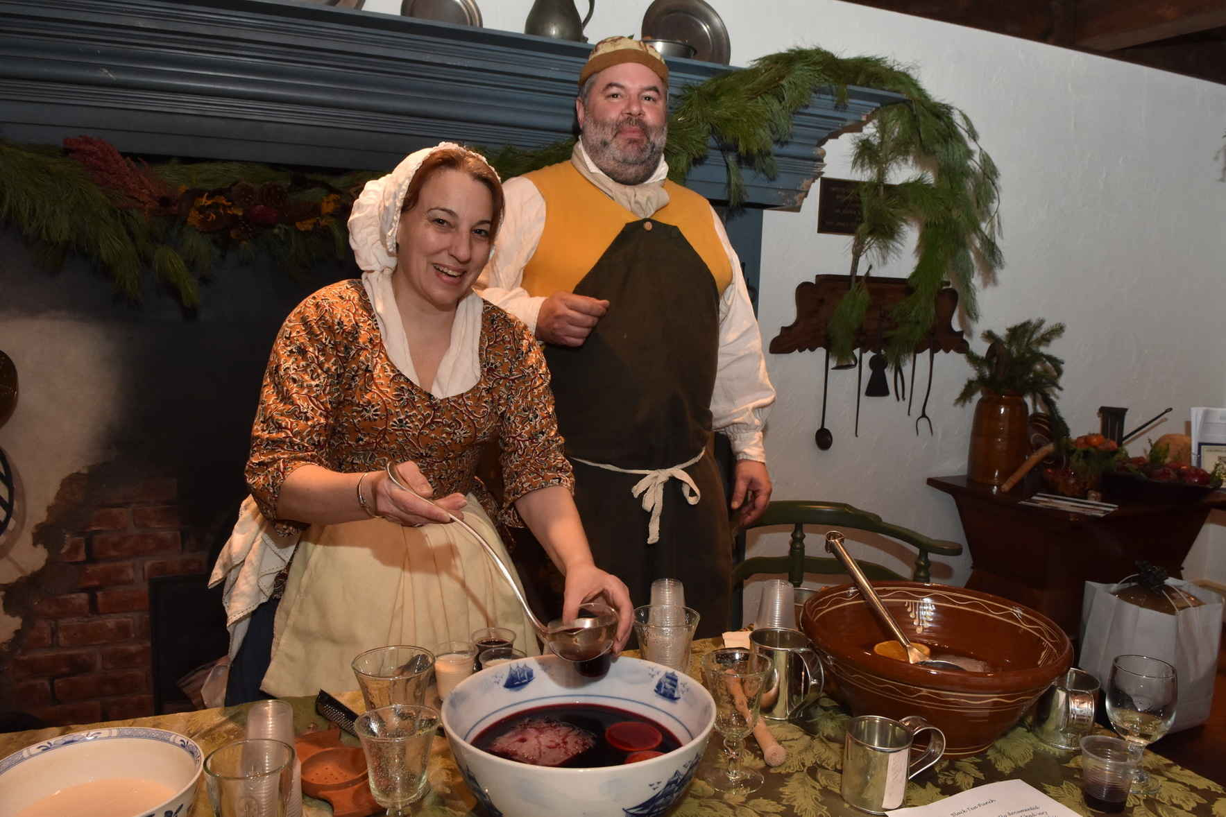 Colonial Christmas Cocktail Reception image