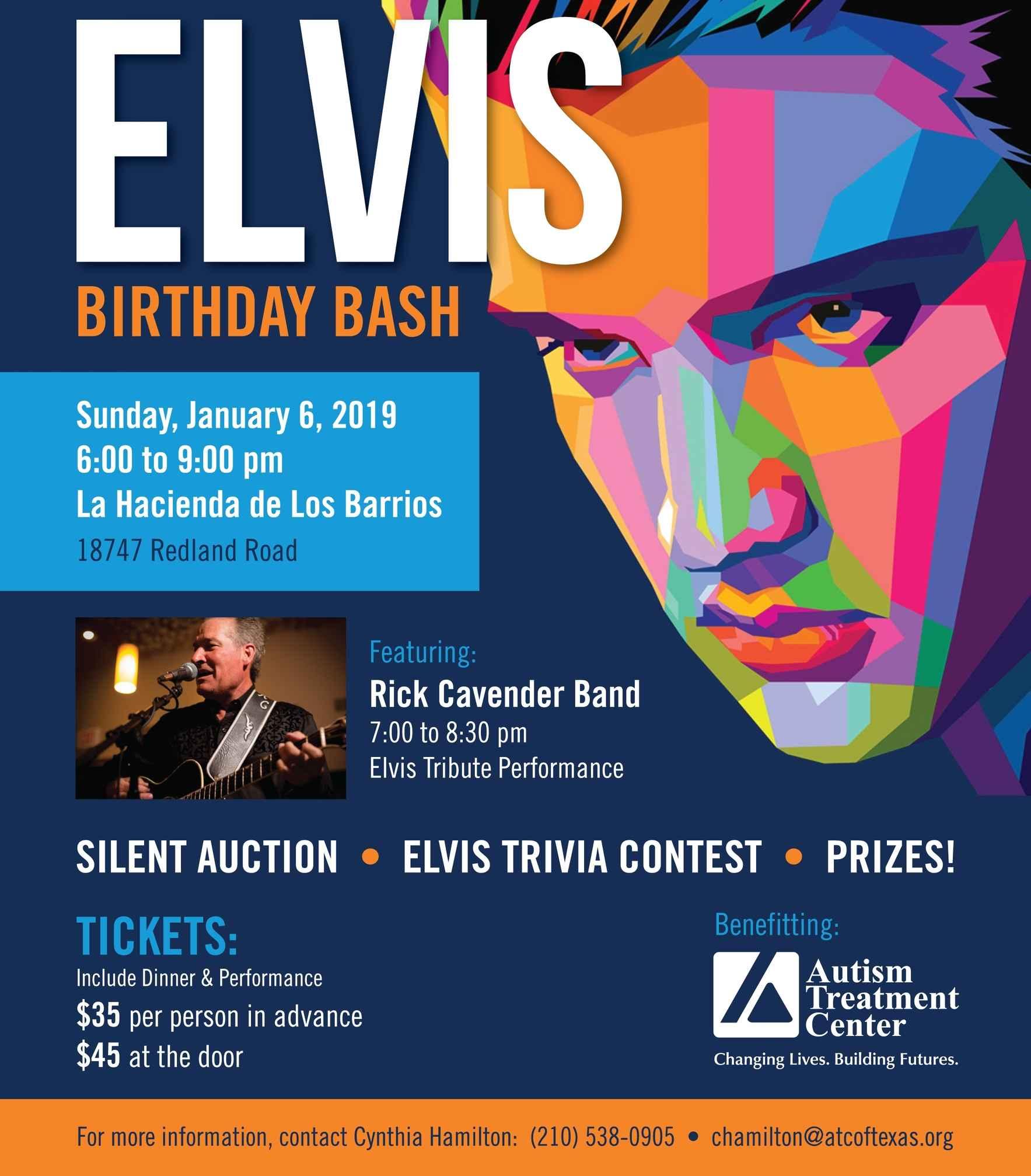 Elvis Birthday Bash image