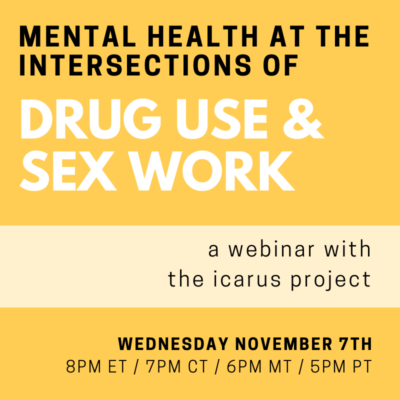 Mental Health at the Intersections of Drug Use and Sex Work image