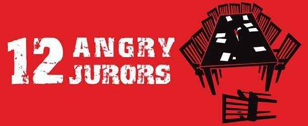 12 Angry Jurors - AS OF FEB 14, Your tickets will be at WILL CALL image