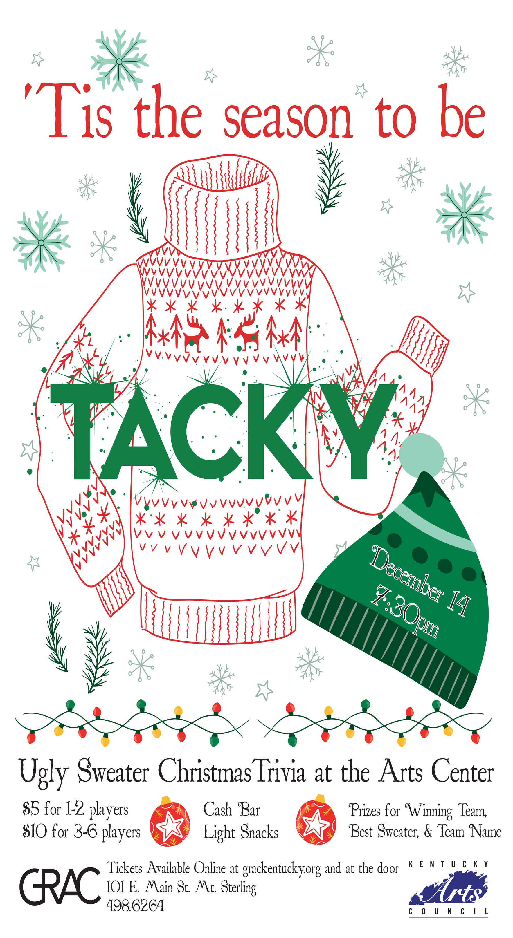 Ugly Sweater Christmas Trivia image
