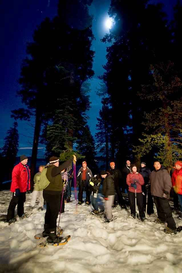 Full Moon Snowshoe Tour - March image