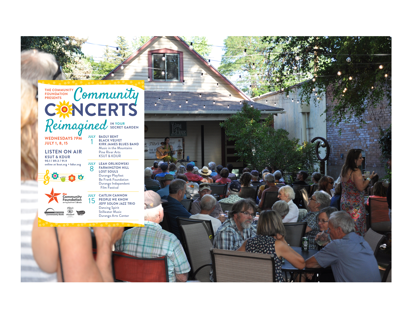 Community Concerts Reimagined: Donate to Support La Plata County Arts and Culture image