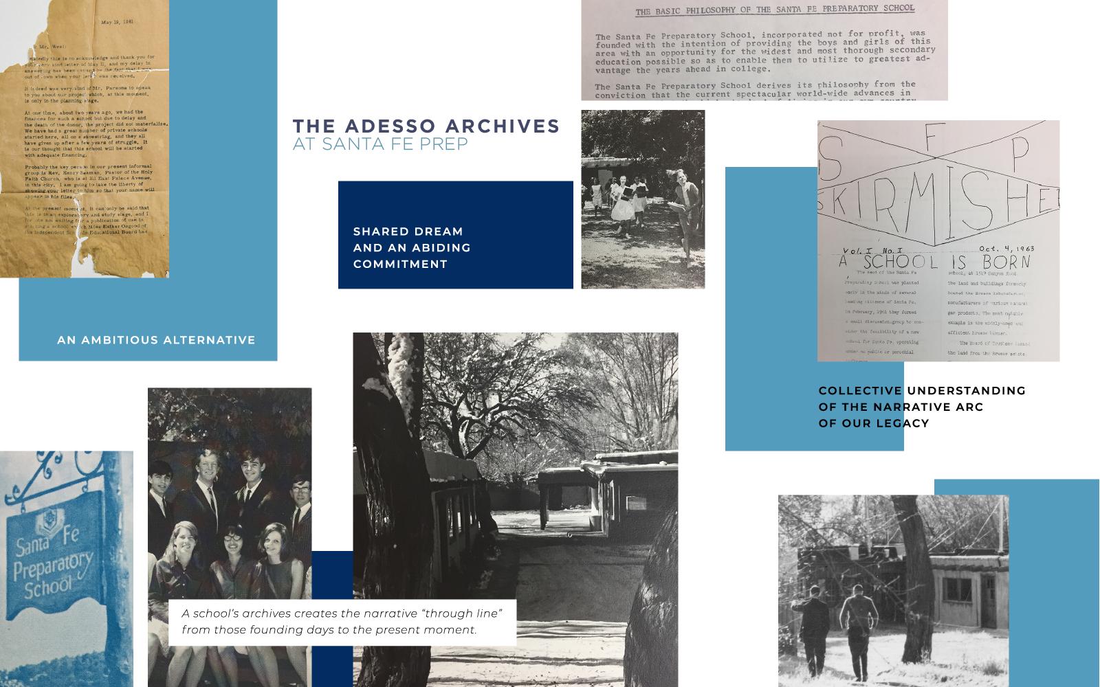 Join Santa Fe Prep to Establish The Adesso Archives image