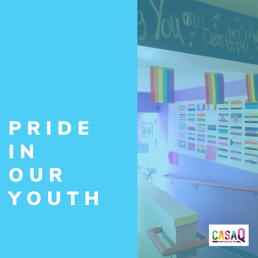 Your gift ensures Casa Q can offer homeless LGBTQ+ youth a safe home and a bright future. image