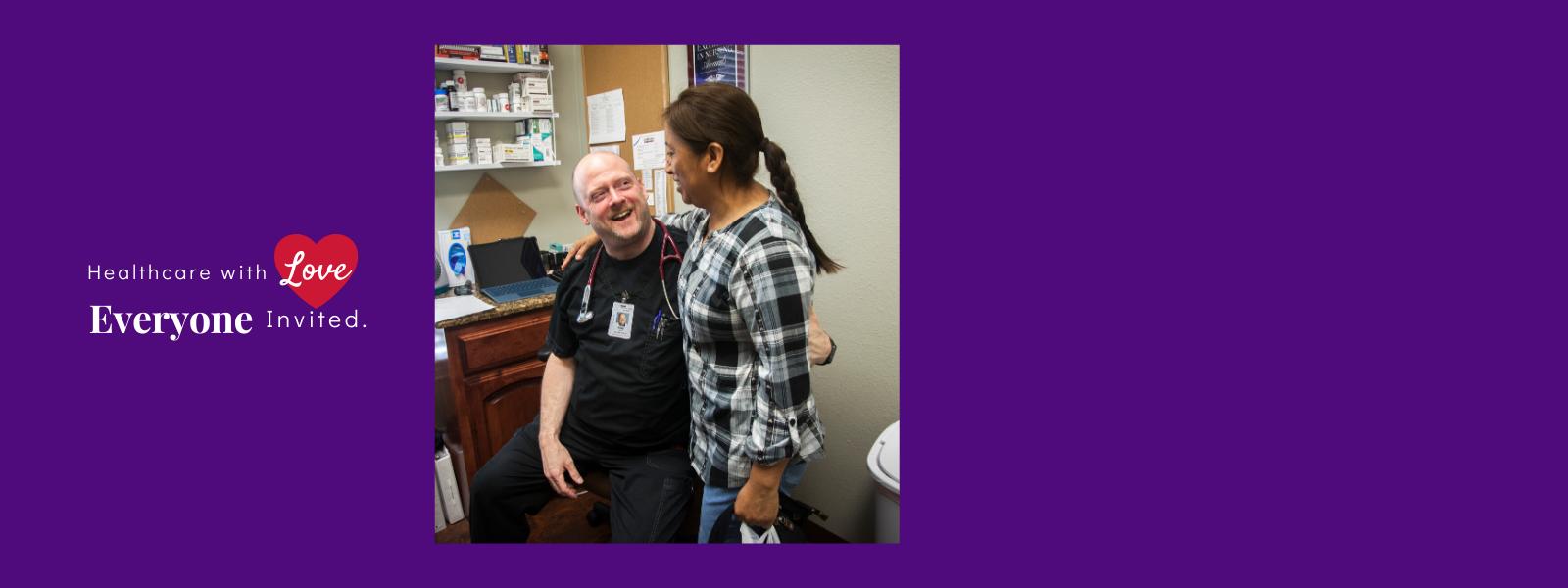 Sponsor a patient visit today! image