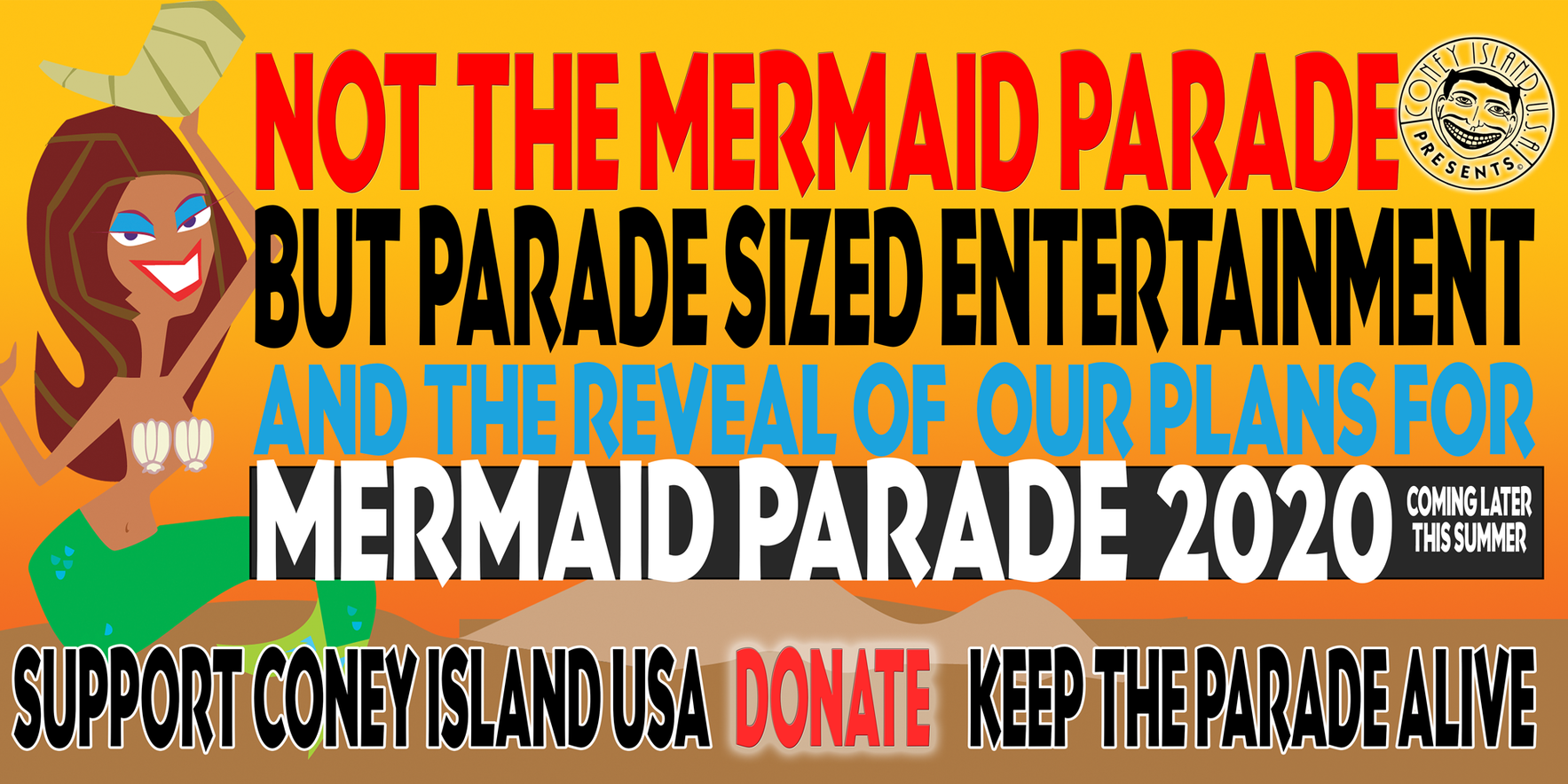 Support the Mermaid Parade image