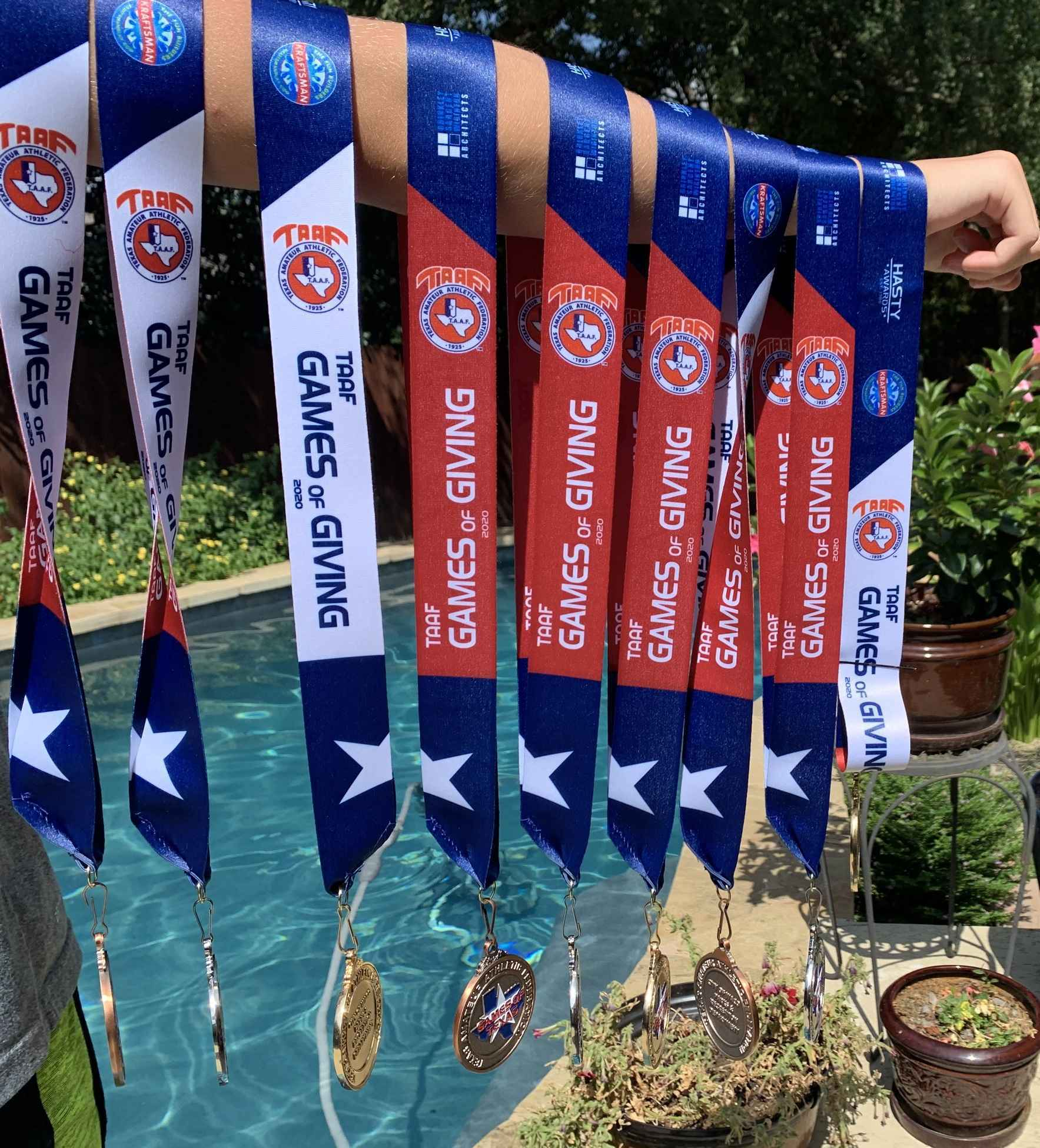 You don't win these medals with muscle, but with heart! image
