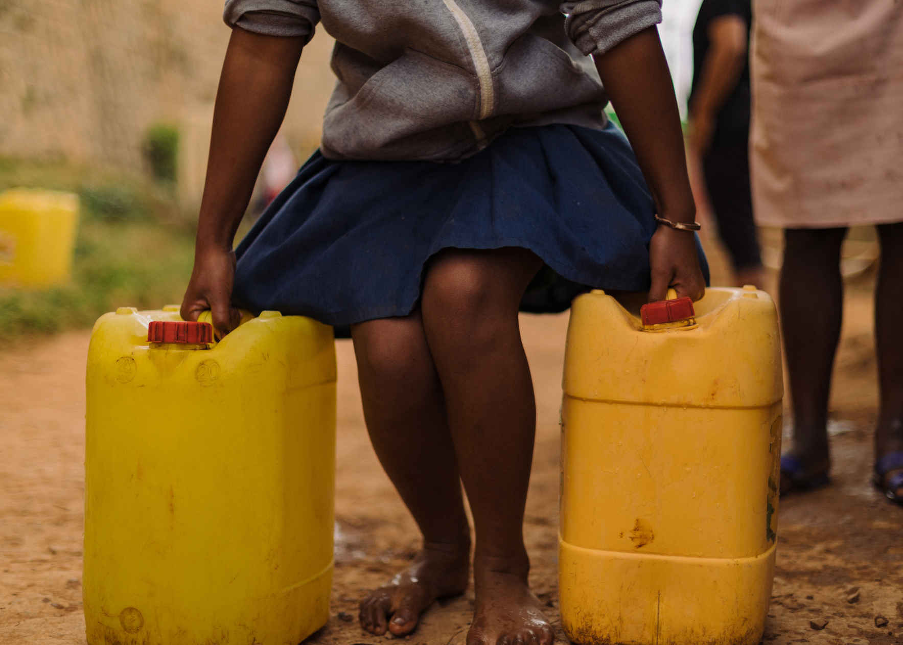 Together, let's empower women through every drop! image